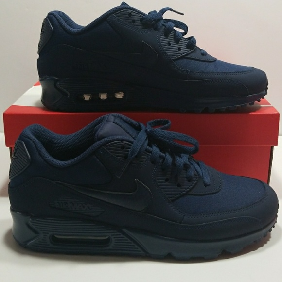 timeless design e1a0c e4af6 Nike Chaussures Air Max 90 Essential Midnight Navy Bleu 53738 Poshmark